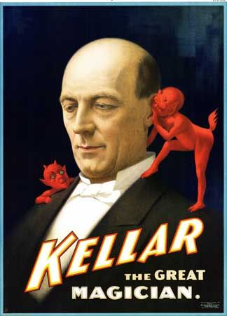 Kellar The Great Magician Poster