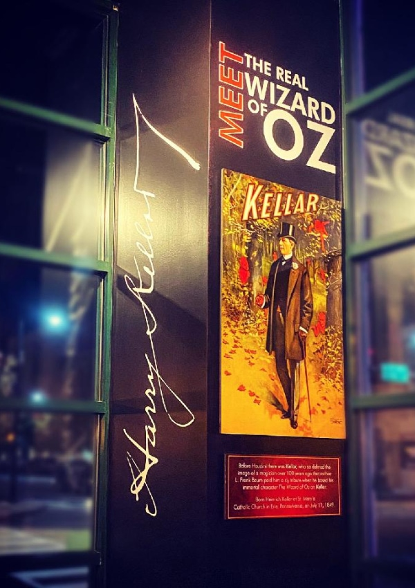 Meet the real wizard of oz poster