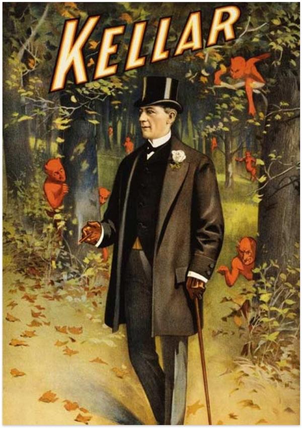Kellar's poster